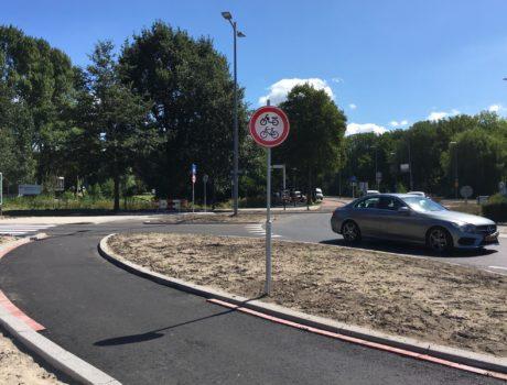 Rotonde Jasonweg : mislukt ontwerp!