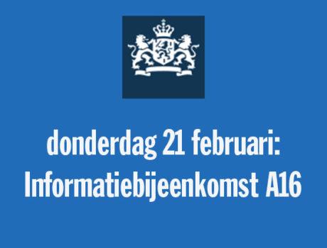 Informatiebijeenkomst A16