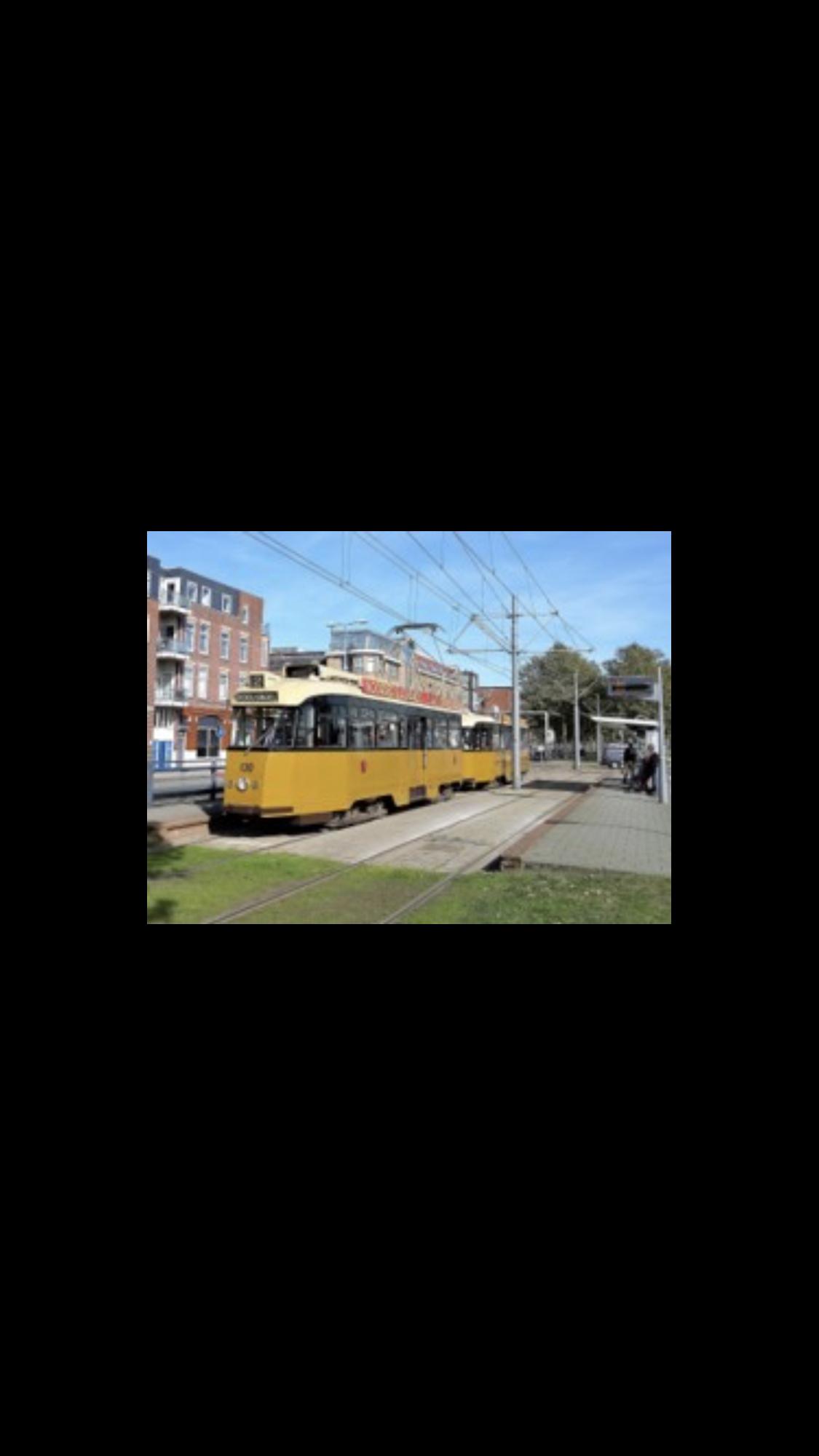 Reis in Rotterdams fabricaat naar het trammuseum