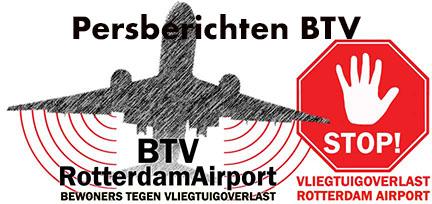 BTV-persbericht inzake groeiplannen Schiphol