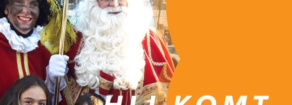 De Sint komt zaterdag!
