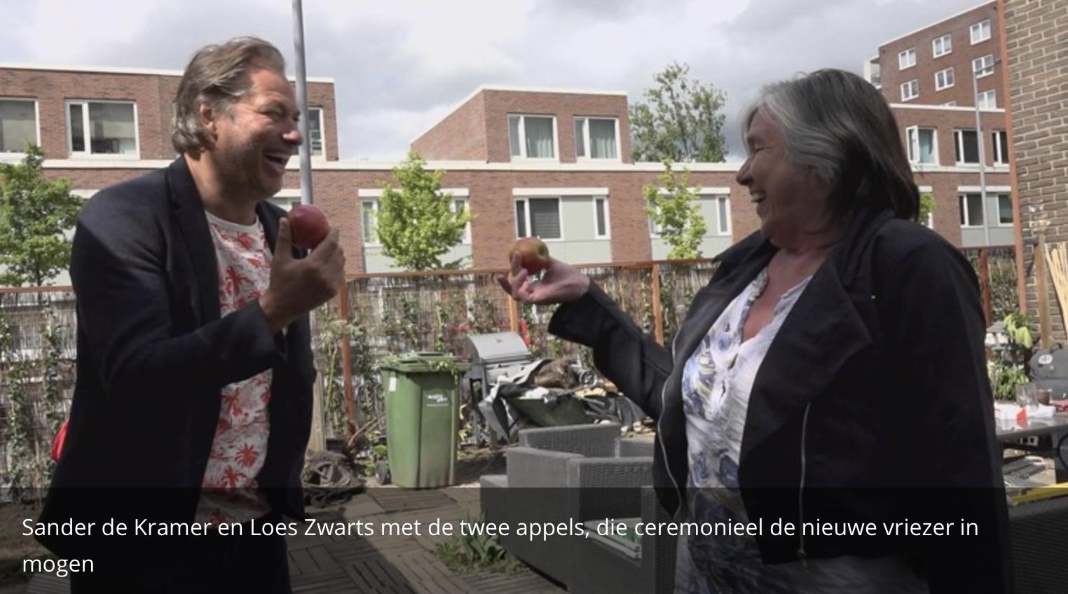 Rijnmond Helpt voedselbank Schiebroek