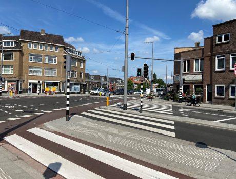Kruispunt Kleiweg-Uitweg maand eerder klaar dan gepland
